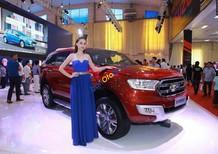 Bán ô tô Ford Everest 2.2L 4x2 Titanium AT đời 2017, màu đỏ, nhập khẩu Thái, hỗ trợ trả góp lên đến 80%