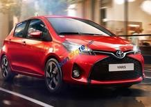 Cần bán Toyota Yaris E AT năm 2017, màu đỏ, giá 636tr