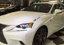 Bán xe Lexus IS250 F Sport đời 2014, màu trắng