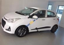Cần bán xe Hyundai Grand i10 1.25AT đời 2017, màu trắng, nhập khẩu chính hãng, 455tr