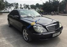 Cần bán gấp Mercedes S 320L năm 2000, màu đen, xe nhập