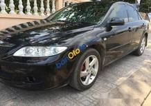 Bán Mazda 6 MT năm 2003, màu đen, giá tốt
