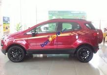 Bán Ford EcoSport Black Edition đời 2017, màu đỏ, 654tr