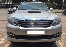 Cần bán xe Toyota Fortuner G đời 2016, màu bạc xe gia đình