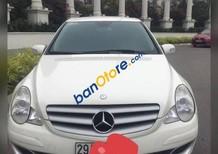 Cần bán Mercedes R350 sản xuất 2005, màu trắng chính chủ, 600 triệu