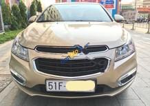Cần bán Chevrolet Cruze LT đời 2016, màu vàng số sàn, giá 505tr