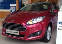 Cần bán Ford Fiesta 1.5AT đời 2017, màu đỏ, giá 524tr
