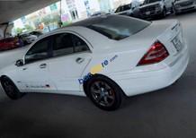 Bán Mercedes C200 đời 2003, màu trắng, nhập khẩu xe gia đình, giá chỉ 265 triệu