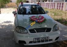 bán xe cũ  Daewoo Lanos SX đời 2001, màu trắng