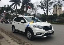 Cần bán Honda CR V 2.0AT đời 2015, màu trắng