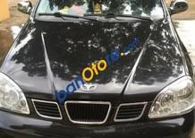 Bán Daewoo Lacetti năm sản xuất 2004, màu đen xe gia đình, giá 190tr