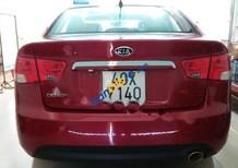 Cần bán lại xe Kia Cerato đời 2009, màu đỏ, nhập khẩu chính hãng giá cạnh tranh