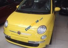 Bán xe cũ Fiat 500 đời 2009, màu vàng, nhập khẩu số tự động, 520 triệu