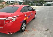 Bán Toyota Vios G sản xuất 2015, màu đỏ, máy khỏe êm điều hòa tự động mát lạnh