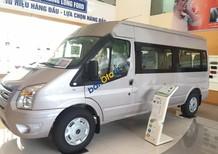 Bán Ford Transit Mid 2.4L đời 2017, màu bạc