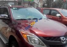 Bán xe cũ Mazda BT 50 sản xuất 2015, màu đỏ, nhập khẩu Thái Lan