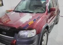 Bán Ford Escape XLT 4x4AT đời 2002, màu đỏ chính chủ, giá chỉ 206 triệu