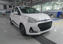 Bán ô tô Hyundai Grand i10 đời 2017, màu trắng, nhập khẩu chính hãng, 348tr