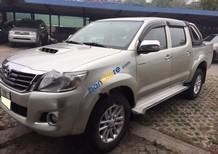 Bán Toyota Hilux E đời 2014, màu bạc, xe nhập