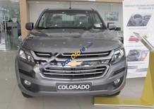 Bán Chevrolet Colorado 2.5 4x2 MT 2017, màu xám, xe nhập khẩu