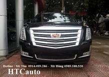 Bán xe Cadillac Escalade ESV Platium 2016, màu đen