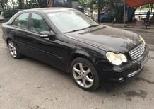 Bán Mercedes Benz C180 1.8 AT 2005, màu đen 1 chủ từ đầu