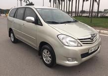 Chính chủ cần bán xe Toyota Innova 2.0 G 2011, màu vàng cát