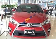 Bán xe Toyota Yaris G 1.5CVT đời 2017, màu đỏ, nhập khẩu