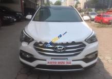 Cần bán gấp Hyundai Santa Fe CRDI đời 2016, màu trắng