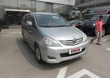 Cần bán gấp Toyota Innova G đời 2010, màu bạc, số sàn giá cạnh tranh