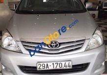 Bán Toyota Innova G MT đời 2011, màu bạc số sàn