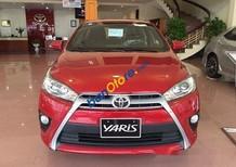 Bán xe Toyota Yaris 1.5G 2017, màu đỏ