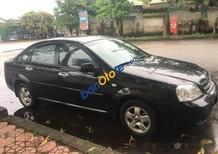 Cần bán Daewoo Lacetti MT năm sản xuất 2012, màu đen số sàn, giá tốt