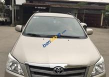 Nhà bán Toyota Innova đăng ký tháng 11-2014, mầu nâu vàng, số sàn. Xe chính chủ chạy 17289 km,, mới như trong hãng