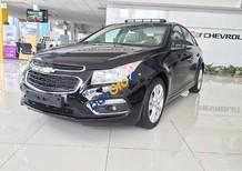 Bán xe Chevrolet Cruze LT đời 2017, màu đen, giá bán 589tr