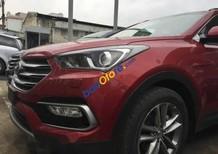 Cần bán Hyundai Santa Fe 2017, màu đỏ