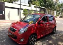 Cần bán lại xe Kia Morning SX AT năm 2010, màu đỏ chính chủ