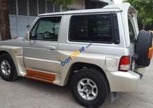 Bán Hyundai Galloper sản xuất 2003, màu bạc, nhập khẩu nguyên chiếc số tự động, giá chỉ 152 triệu