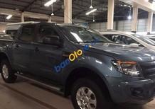 Bán Ford Ranger XLT đời 2014, màu xanh