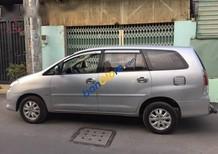 Bán xe cũ Toyota Innova đời 2009, màu bạc số sàn