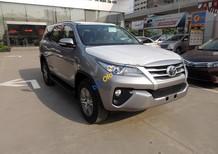 Cần bán Toyota Fortuner G đời 2016, màu bạc