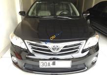 Bán xe Toyota Corolla Altis 1.8 G năm 2011, màu đen, giá 550tr