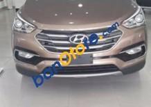 Cần bán Hyundai Santa Fe năm sản xuất 2016, màu nâu