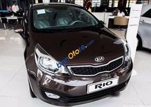 Bán xe Kia Rio 1.4 đời 2017, màu nâu