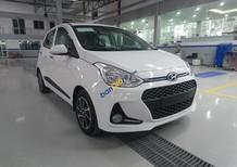 Bán xe Hyundai Grand i10 nhập khẩu SX 2018 màu trắng, các phiên bản, giá tốt nhất. LH 090.467.5566