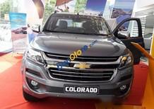 Bán Chevrolet Colorado 4X4 AT năm 2017, màu xám