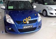 Cần bán lại xe Suzuki Swift 2017, màu xanh lam số tự động