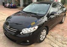 Cần bán Toyota Corolla altis 1.8G AT đời 2009, màu đen chính chủ