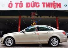 Cần bán gấp Mercedes C200 năm 2012, màu kem (be) chính chủ