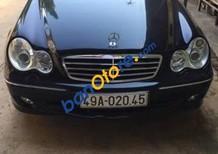 Bán ô tô Mercedes C240 đời 2004, màu đen